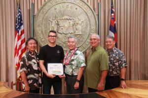 Photo of Hawaii Green Business Program awardee