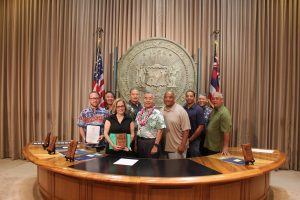 Photo of Hawaii Green Business Program awardee