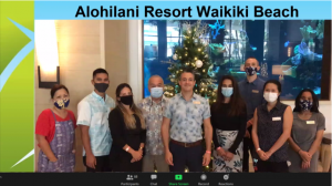 Slide of awardee Alohilani Resort Waikiki