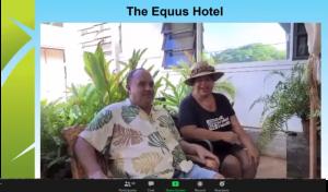 Slide of awardee Equus Hotel