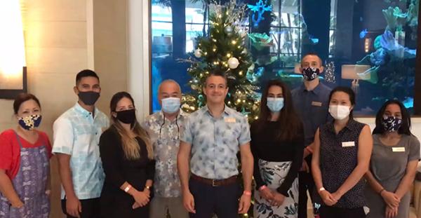 2020 Hawaii Green Business Program Awardee group photo